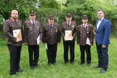FF-Ehrung Abschnittsfeuerwehrtag Breitstetten