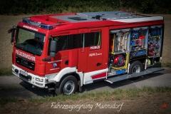 Fahrzeugsegnung Mannsdorf