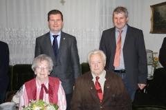 Wir gratulieren Emma und Konrad Unger zur Diamantenen Hochzeit.