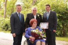 Wir gratulieren Ilse und Erich Babitsch zur Goldenen Hochzeit.