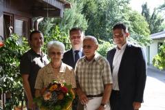 Wir gratulieren Maria und Willibald Waranitsch zur Goldenen Hochzeit.