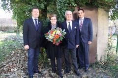 Wir gratulieren Inge und Josef Hirsch zur Goldenen Hochzeit.