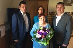 Wir gratulieren Frau Pollaschak zum 80. Geburtstag.