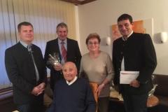 Wir gratulieren Herrn Altbürgermeister Herbert Mayer zum 90. Geburtstag.