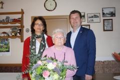 Wir gratulieren Frau Margarete Türk zum 85. Geburtstag.