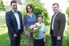 Wir gratulieren Frau Elisabeth Taferner zum 80. Geburtstag.