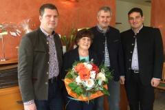 Wir gratulieren Frau Anna Maria Michalitsch zum 80. Geburtstag.