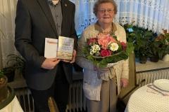 95. Geburtstag von Hermine Schestag