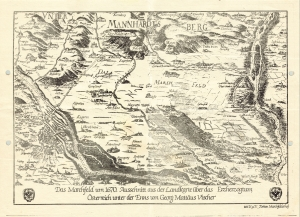 Marchfeld im Jahre 1670