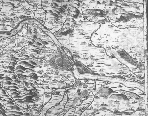 Marchfeld im Jahre 1700